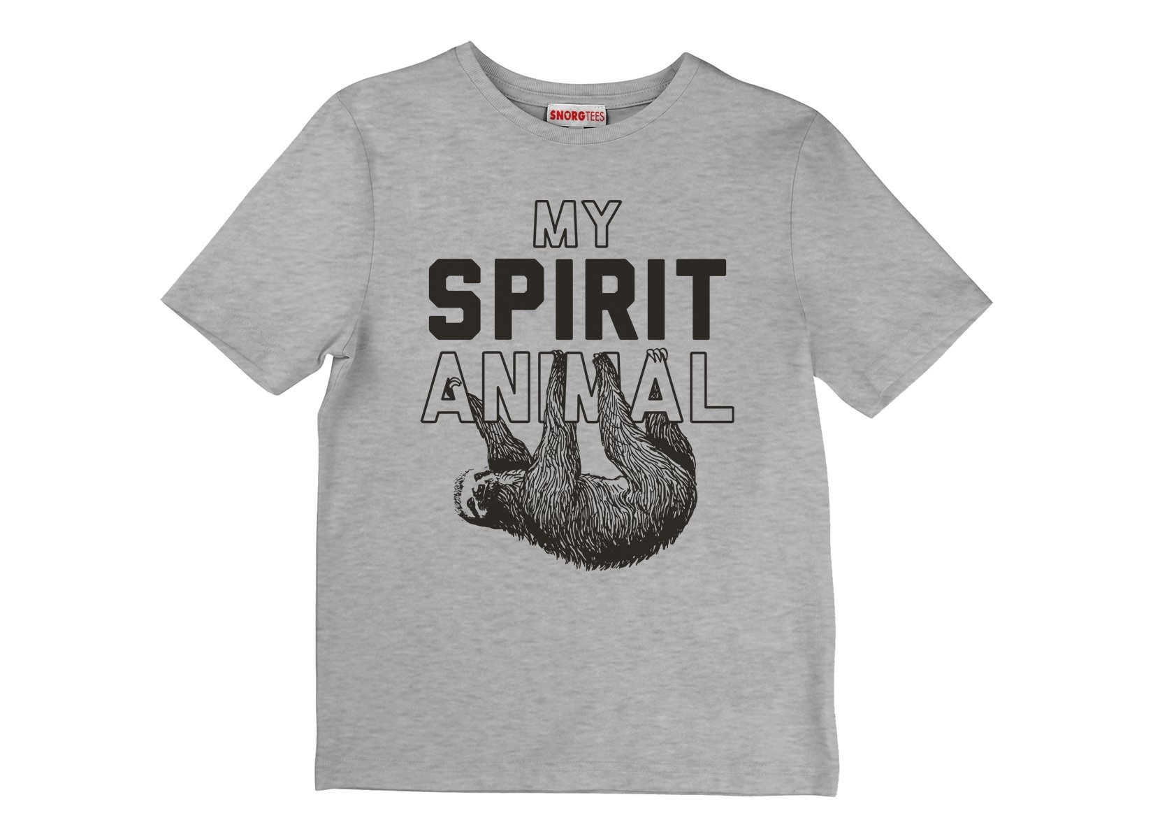 My Spirit Animal on Kids T-Shirt