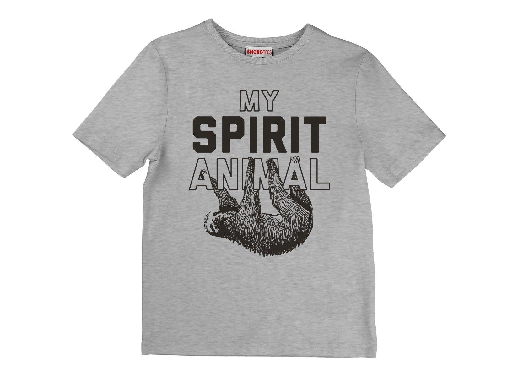 My Spirit Animal on Kids T-Shirt