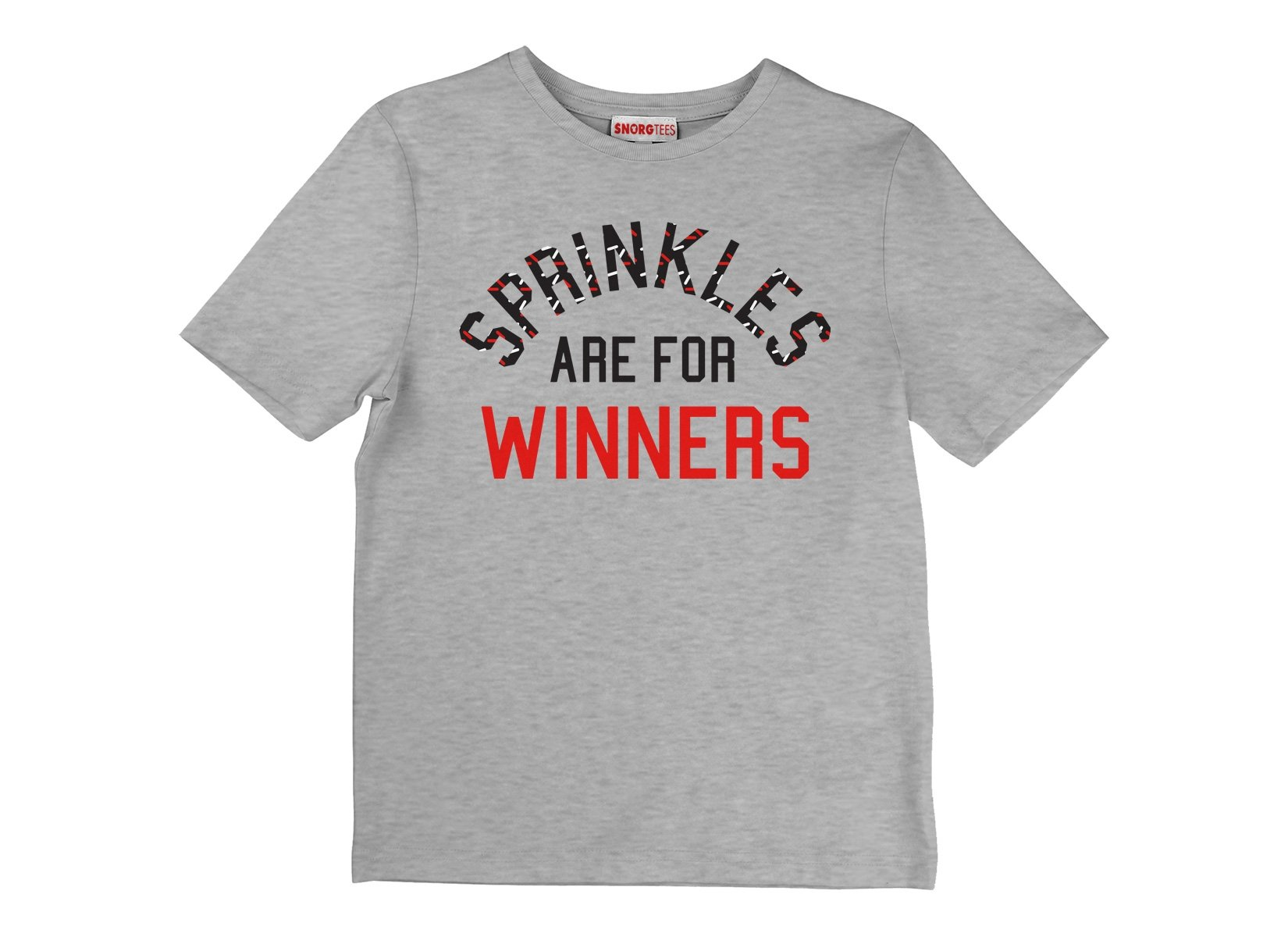 Sprinkles Are For Winners on Kids T-Shirt