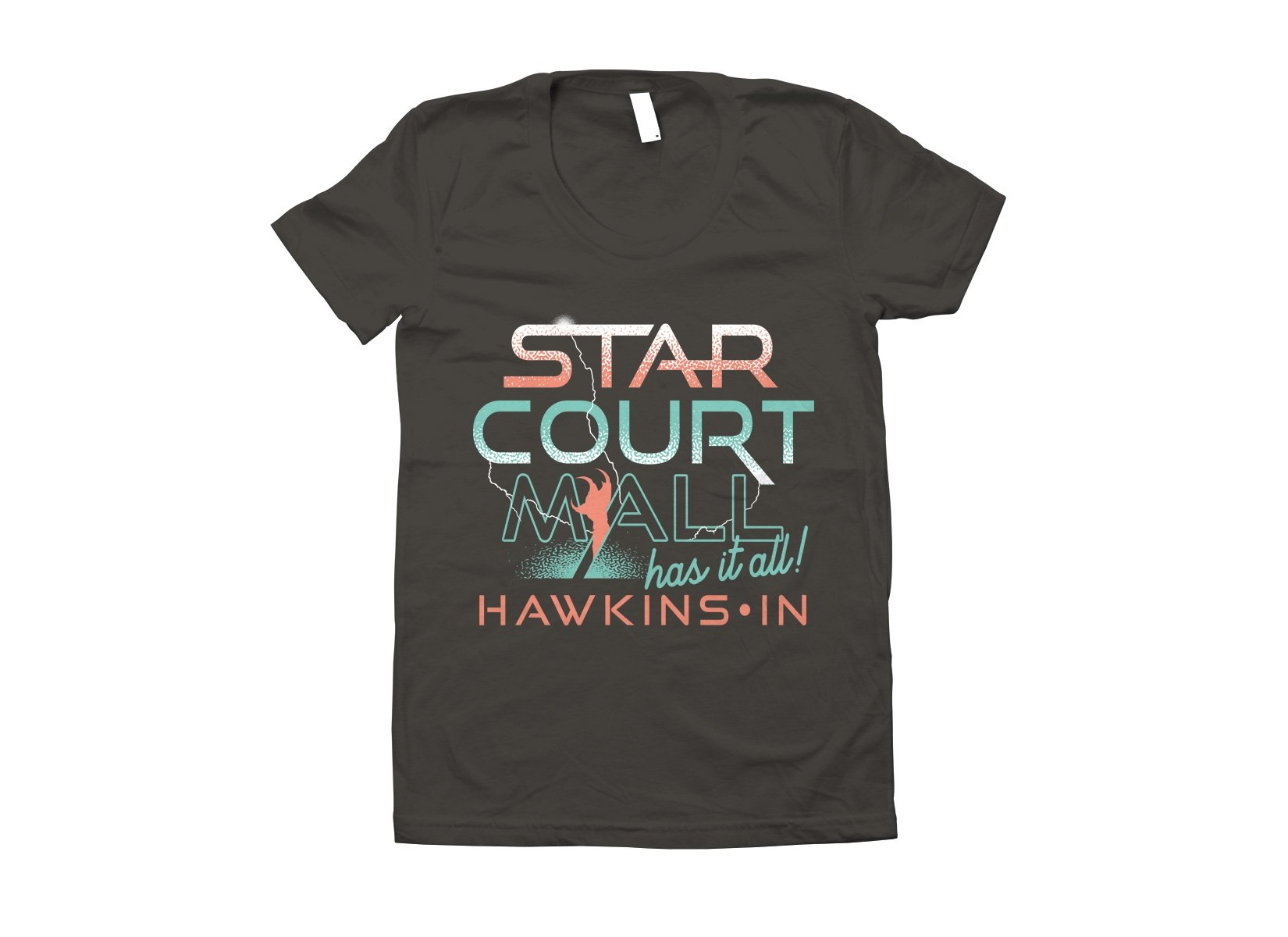 Starcourt Mall on Juniors T-Shirt