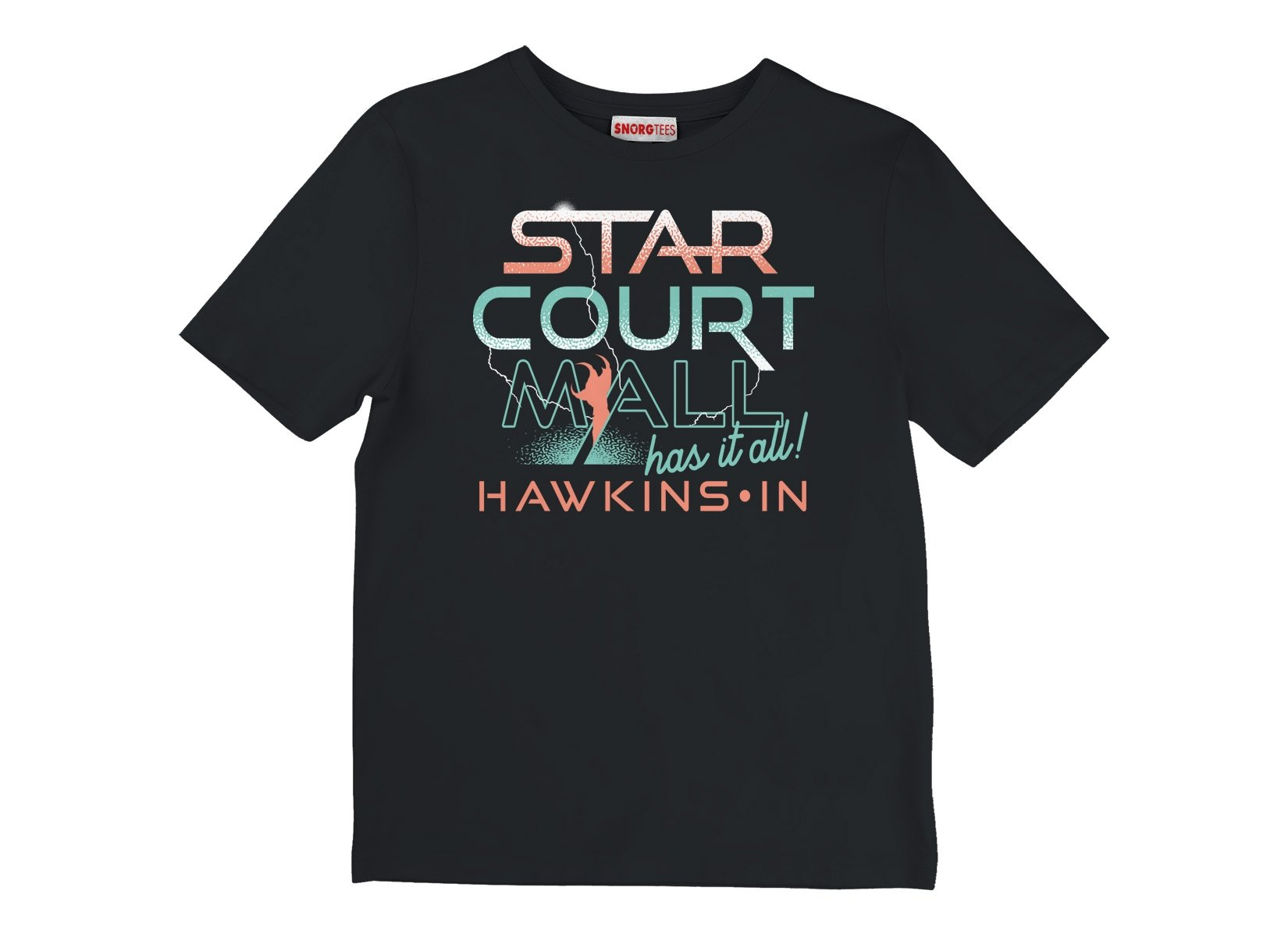 Starcourt Mall on Kids T-Shirt