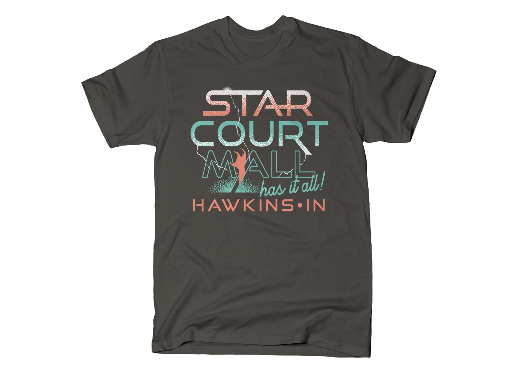 Starcourt Mall on Mens T-Shirt