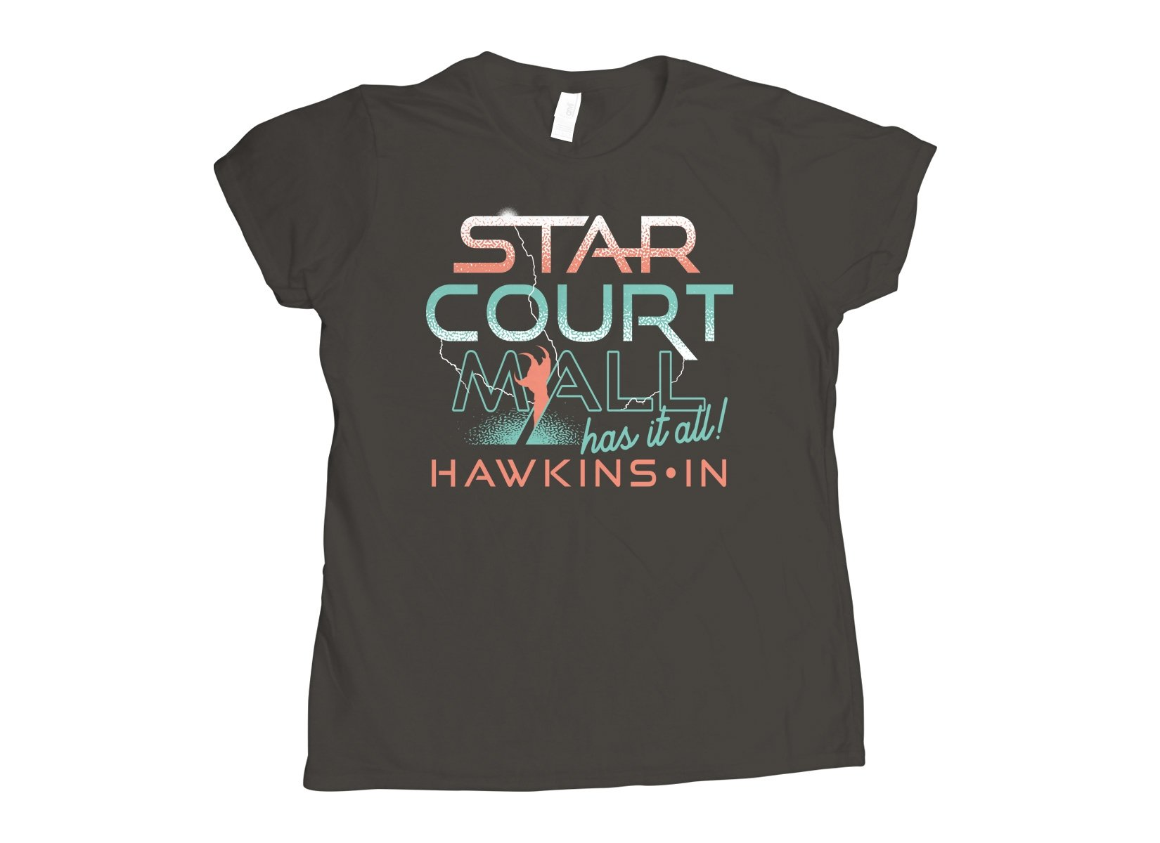 Starcourt Mall on Womens T-Shirt