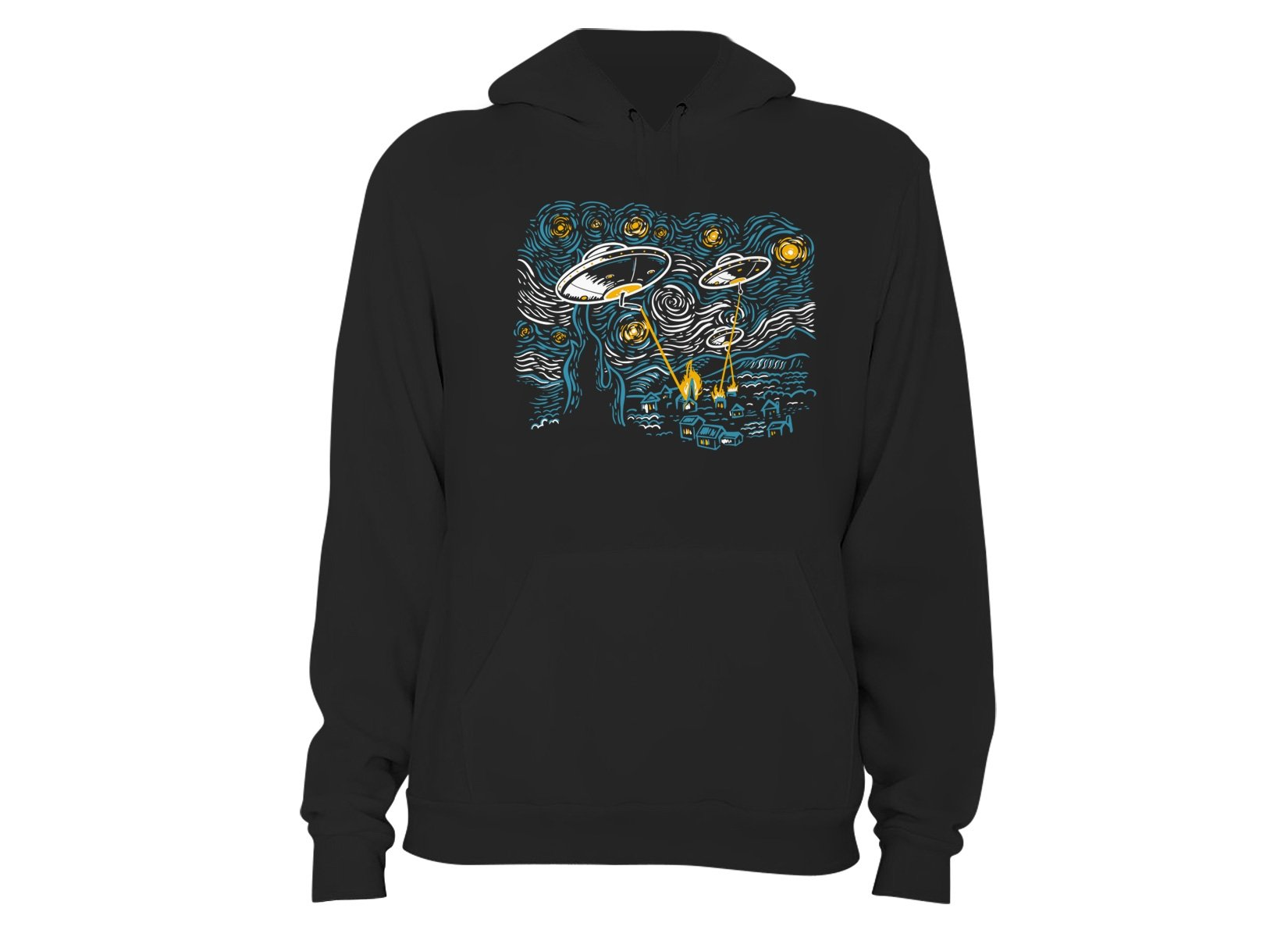 Starry Invasion on Hoodie