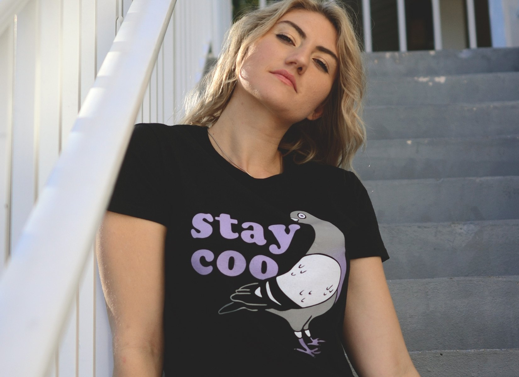 Stay Coo on Womens T-Shirt