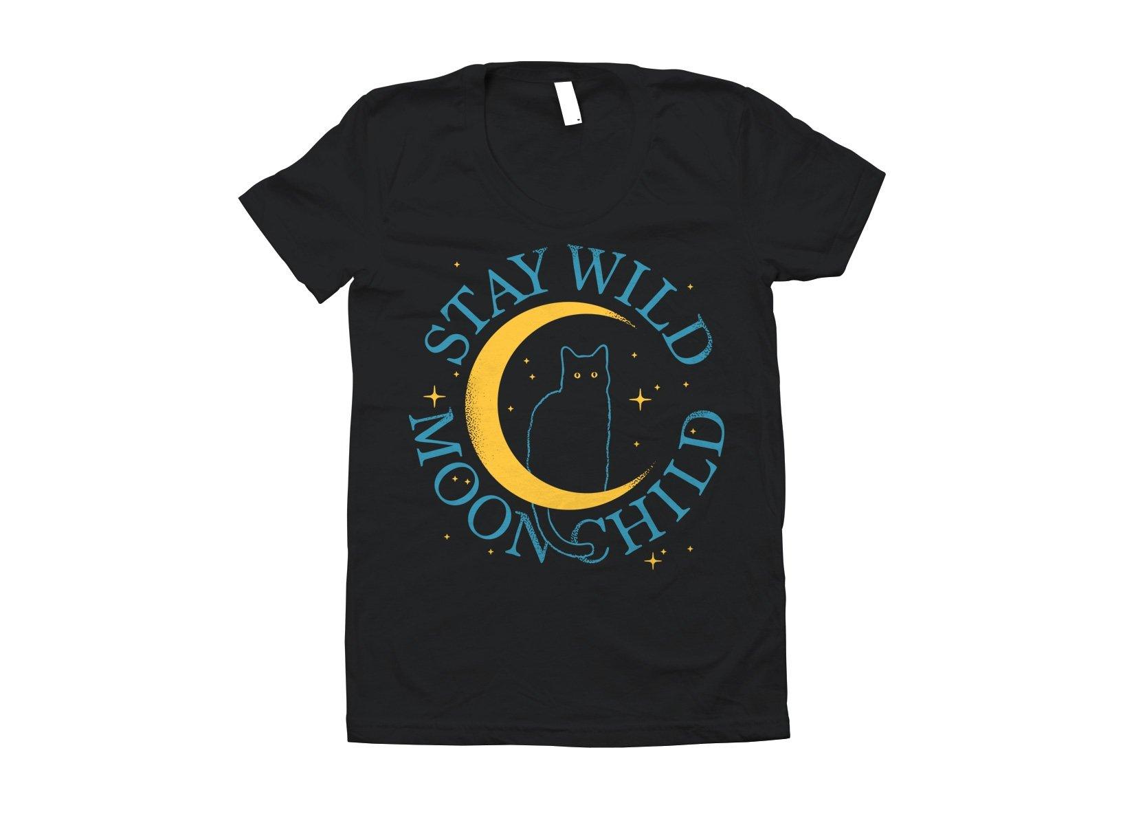 Stay Wild Moon Child on Juniors T-Shirt