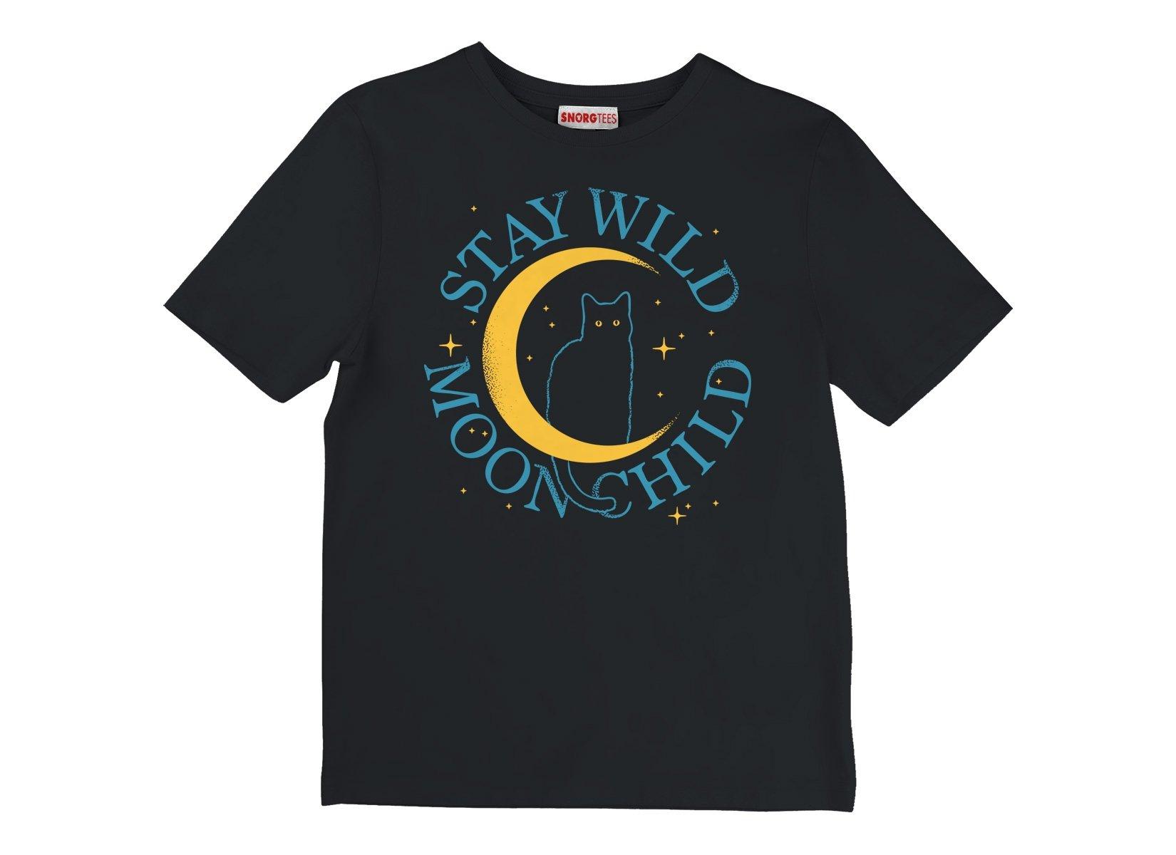 Stay Wild Moon Child on Kids T-Shirt