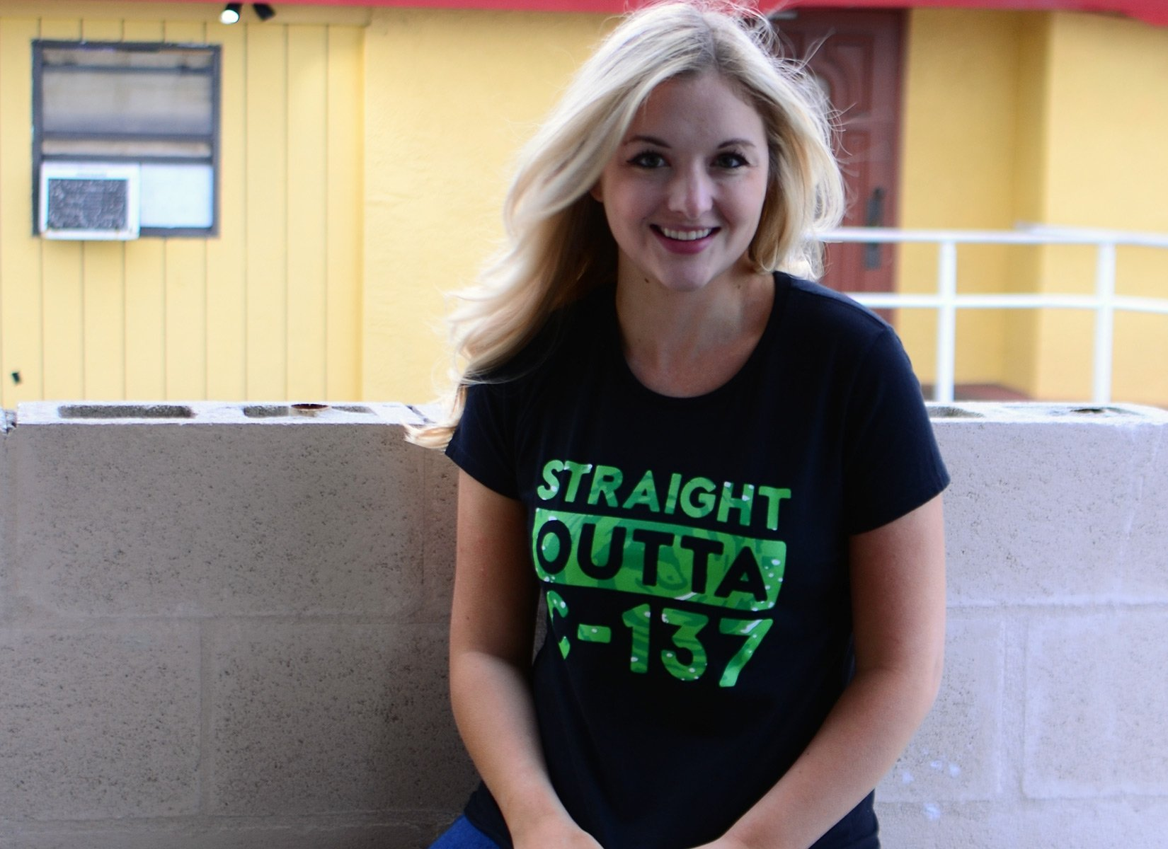 Straight Outta C-137 on Womens T-Shirt