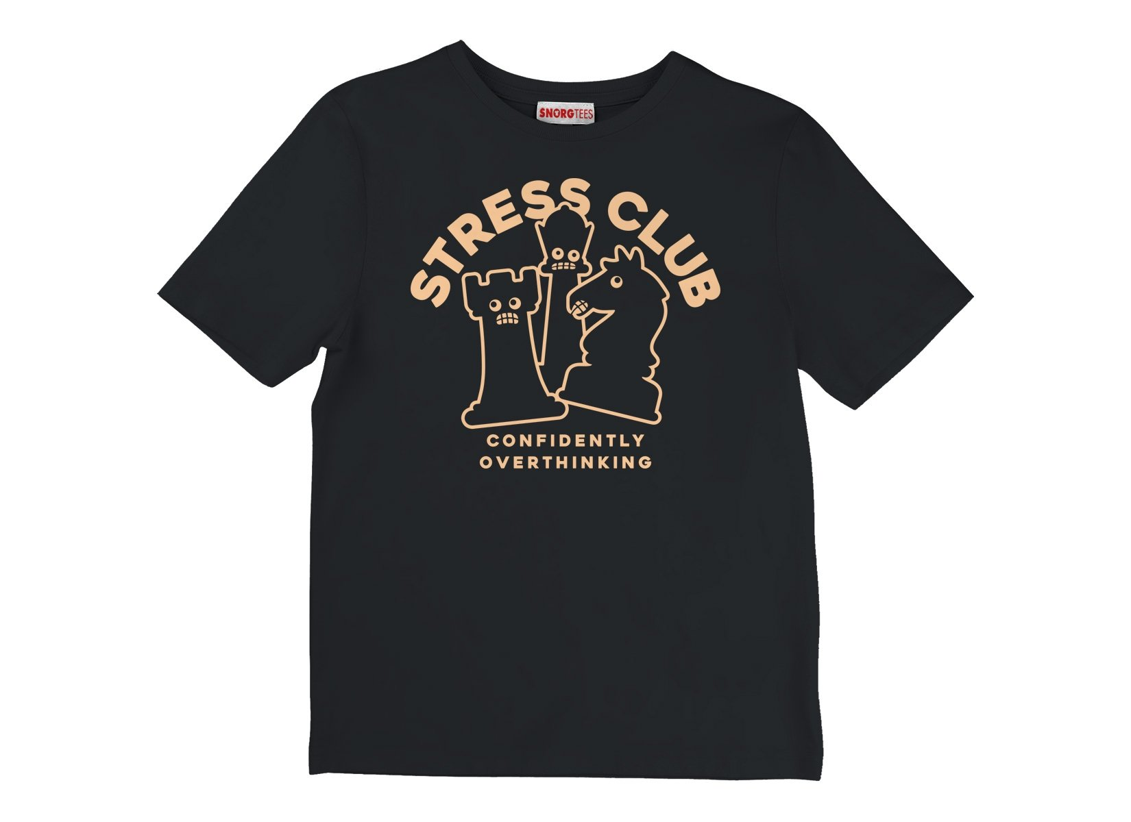 Stress Club on Kids T-Shirt