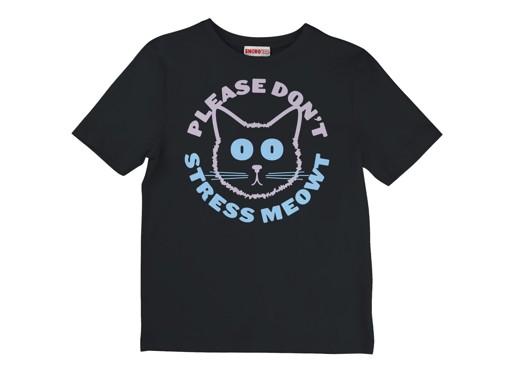 Please Don't Stress Meowt on Kids T-Shirt
