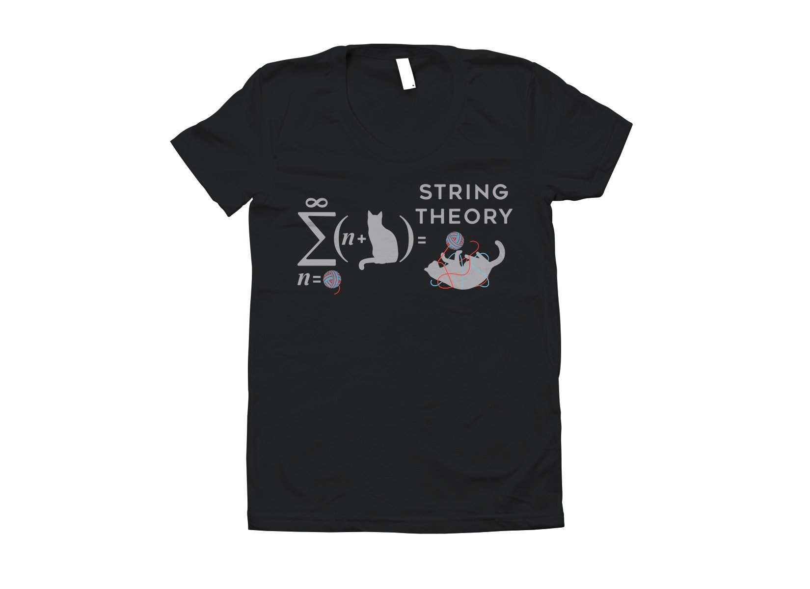String Theory on Juniors T-Shirt
