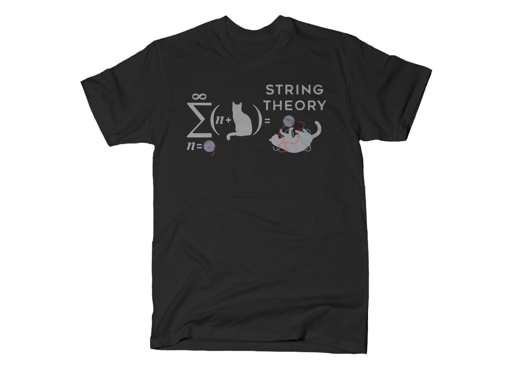 String Theory on Mens T-Shirt