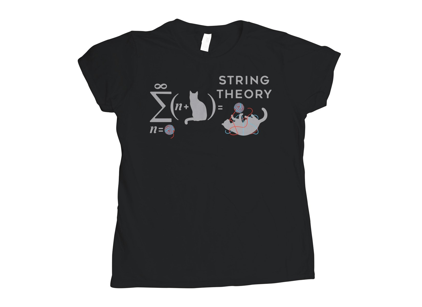 String Theory on Womens T-Shirt