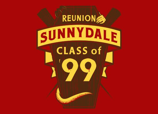 Sunnydale Reunion on Mens T-Shirt