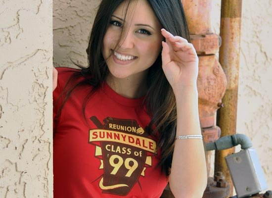 Sunnydale Reunion on Juniors T-Shirt