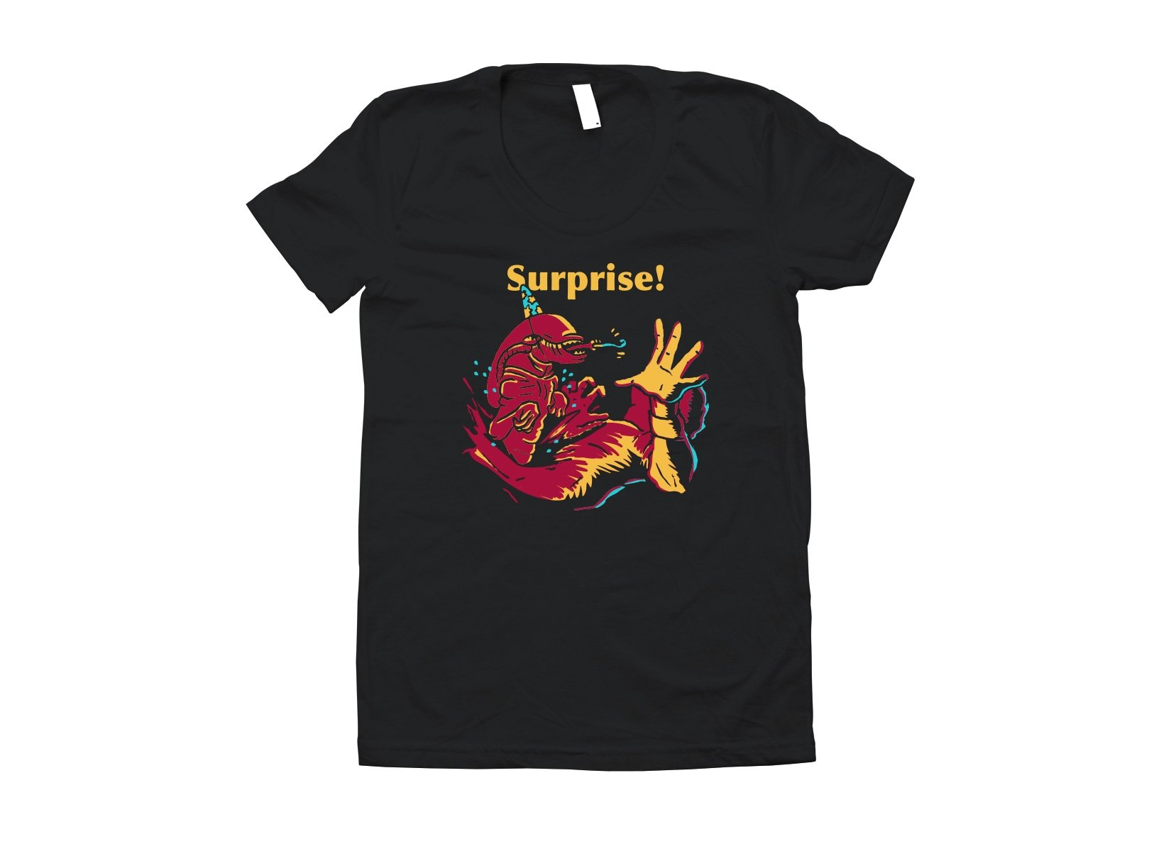 Surprise Party! on Juniors T-Shirt