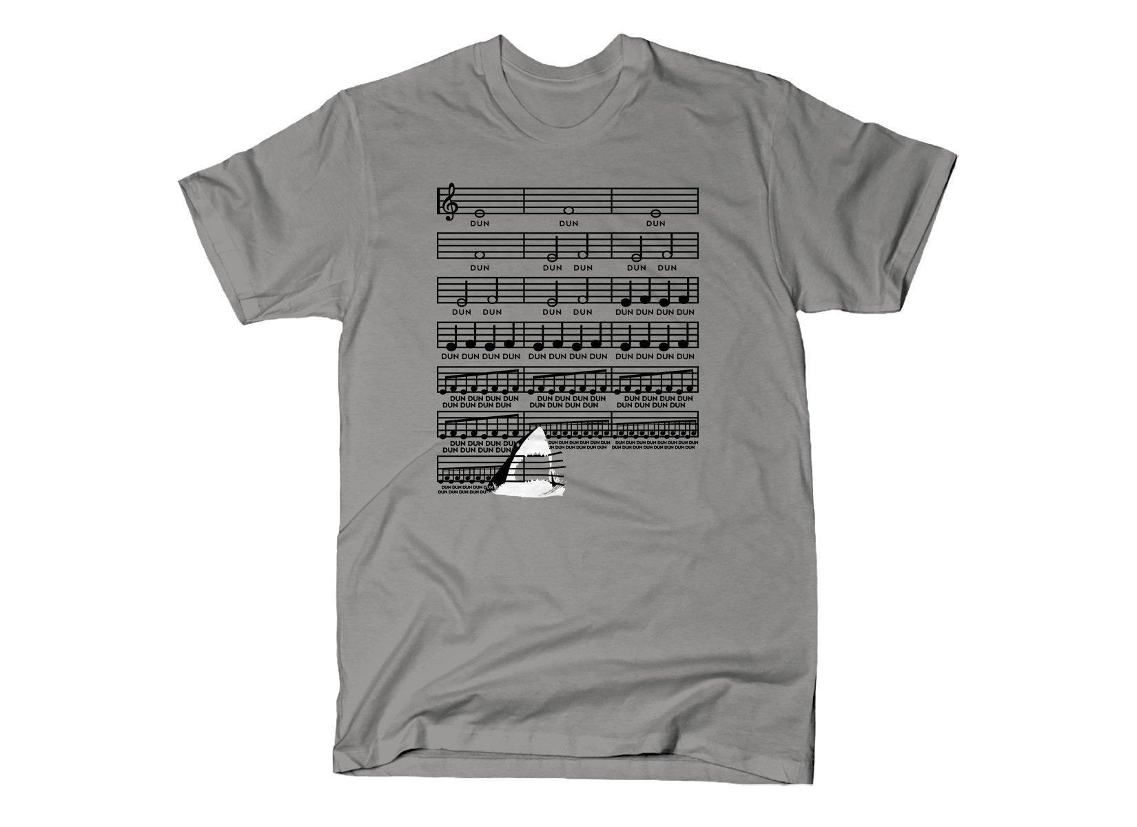 Swimming Theme on Mens T-Shirt