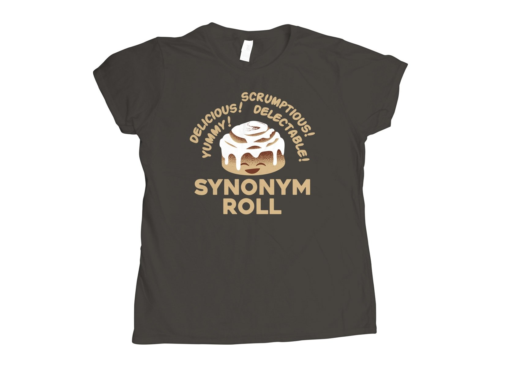 Synonym Roll on Womens T-Shirt