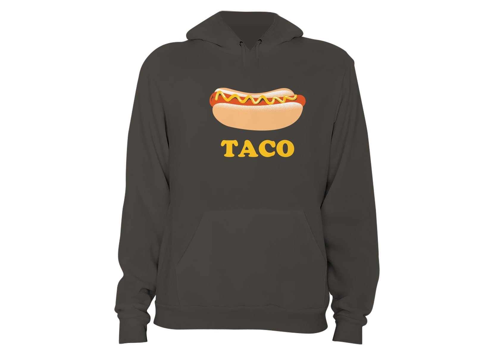 Hotdog Taco on Hoodie