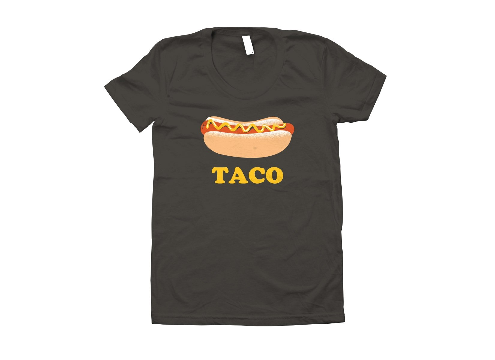 Hotdog Taco on Juniors T-Shirt