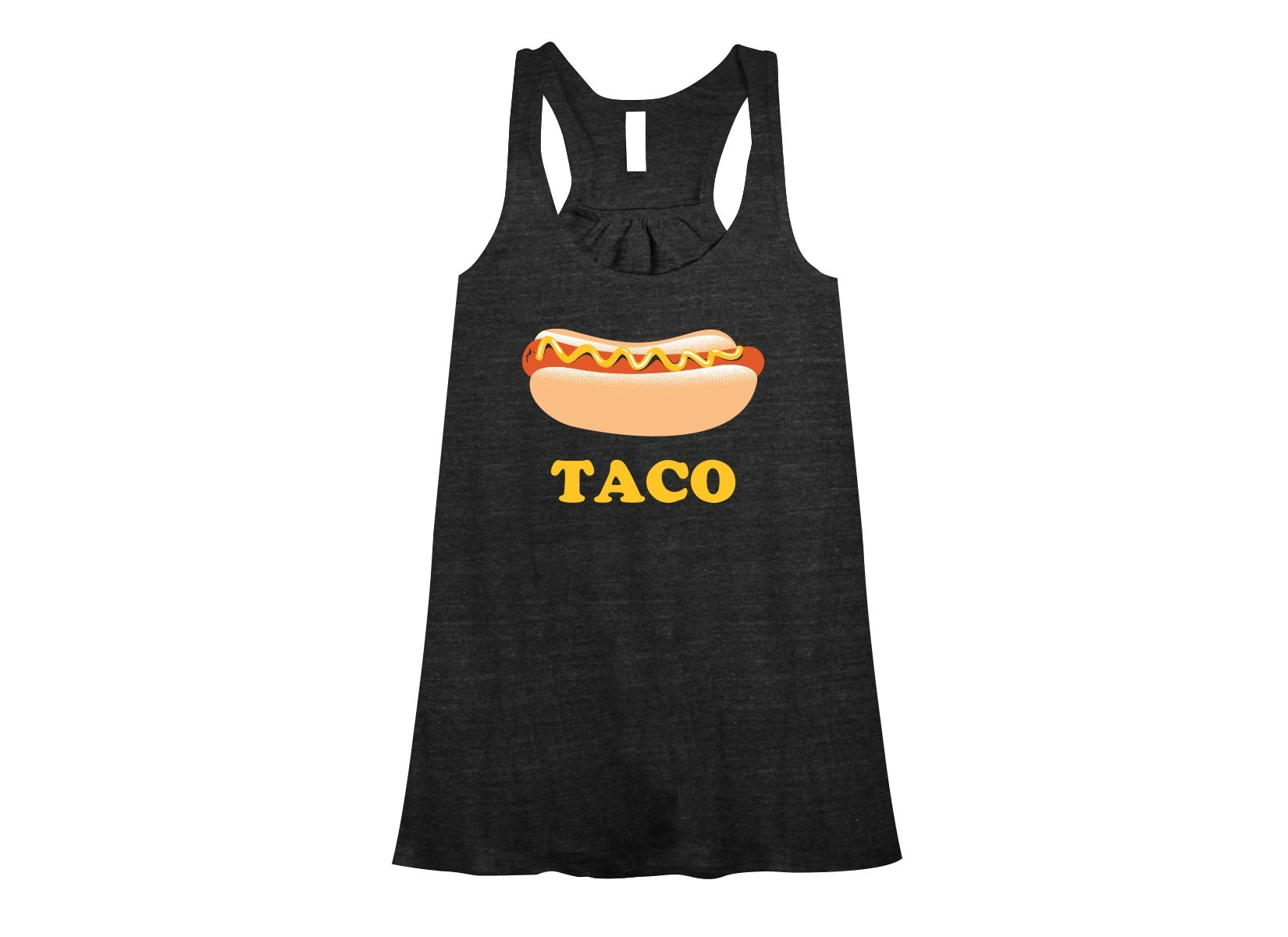 Hotdog Taco on Womens Tanks T-Shirt