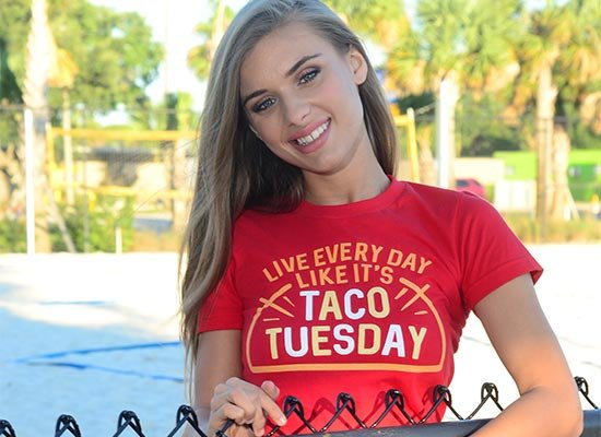 Taco Tuesday on Juniors T-Shirt