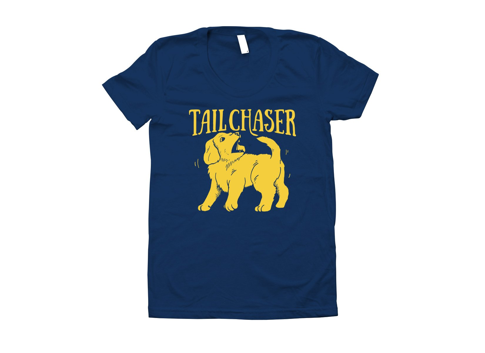 Tail Chaser on Juniors T-Shirt