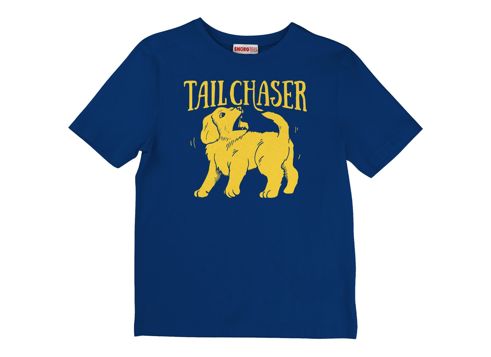 Tail Chaser on Kids T-Shirt