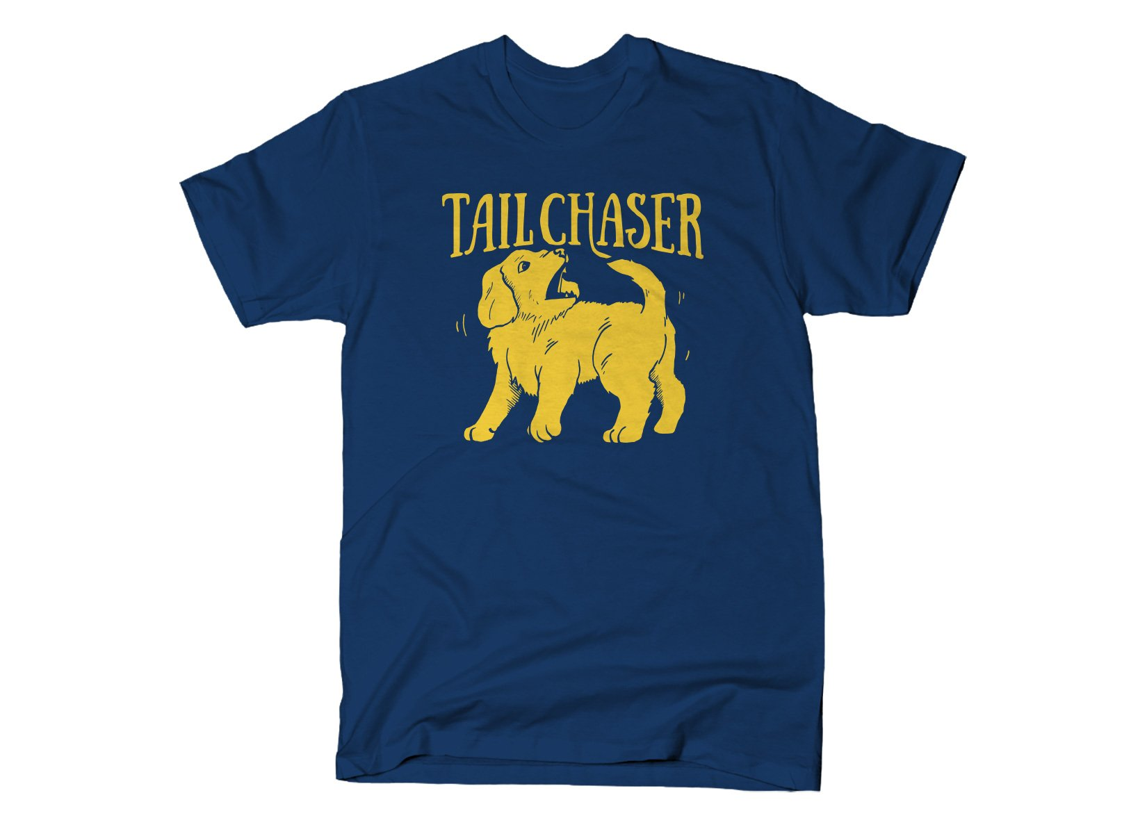 Tail Chaser on Mens T-Shirt