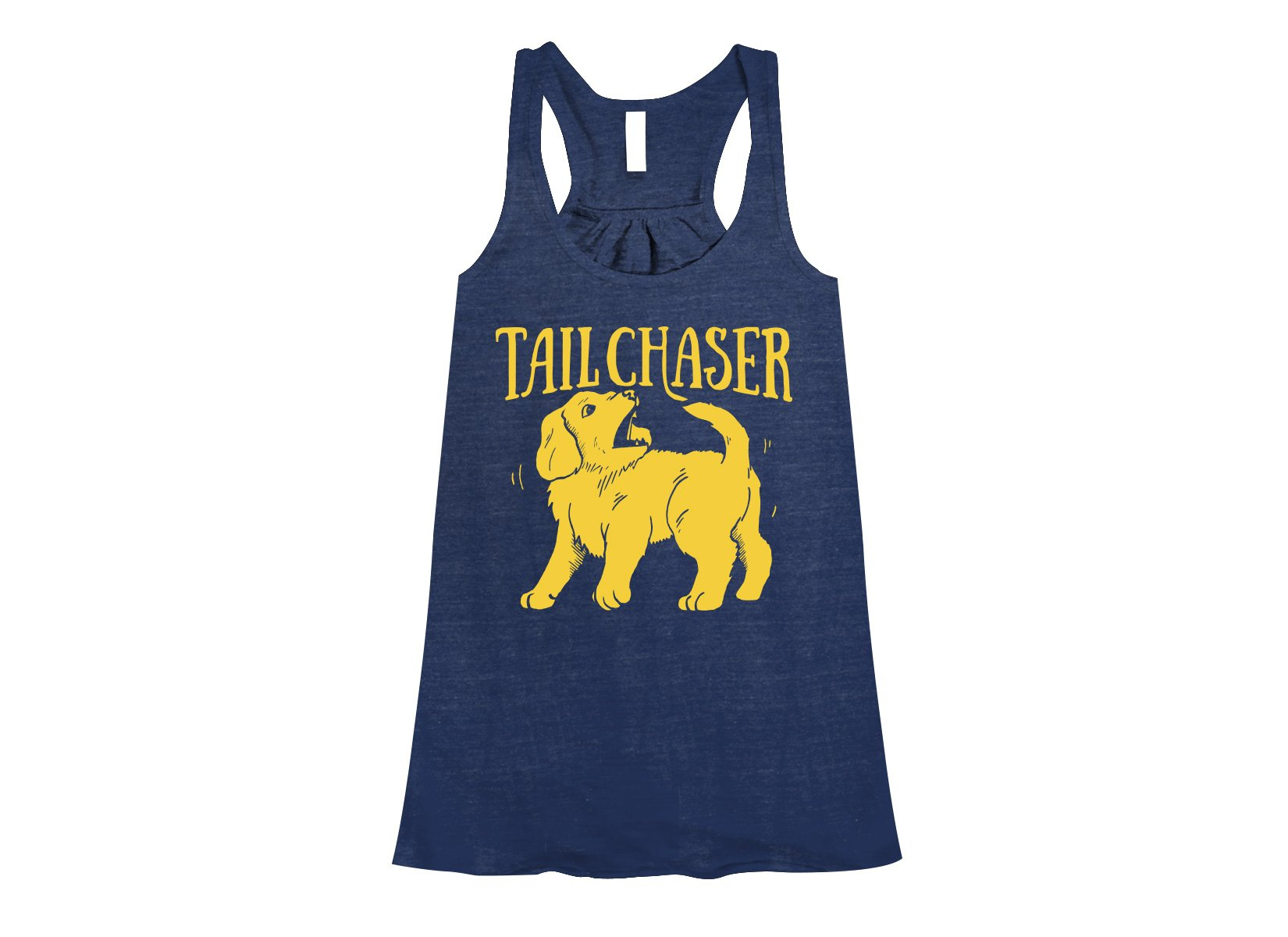 Tail Chaser on Womens Tanks T-Shirt