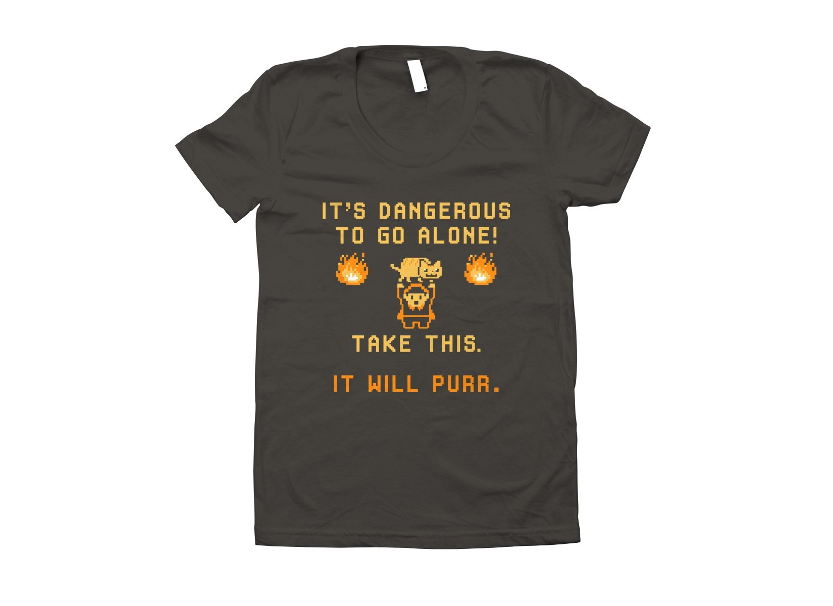 It's Dangerous To Go Alone on Juniors T-Shirt