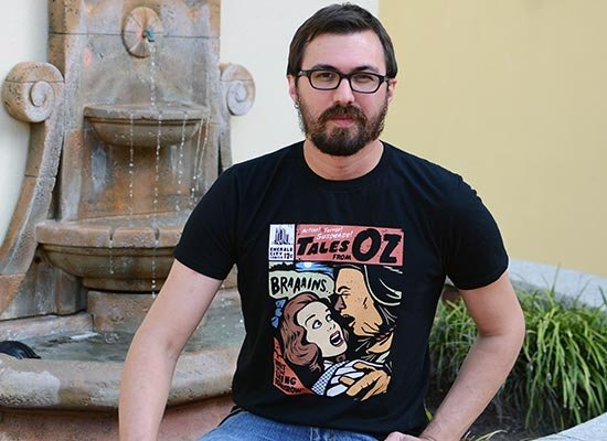 Tales From Oz on Mens T-Shirt