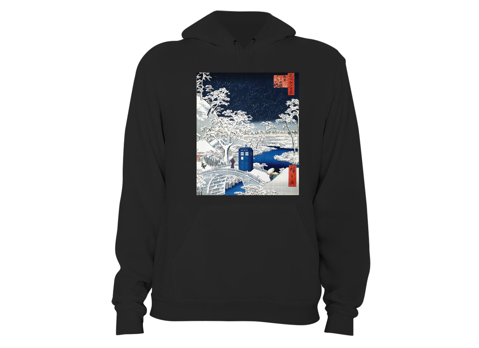 Snow Bridge on Hoodie