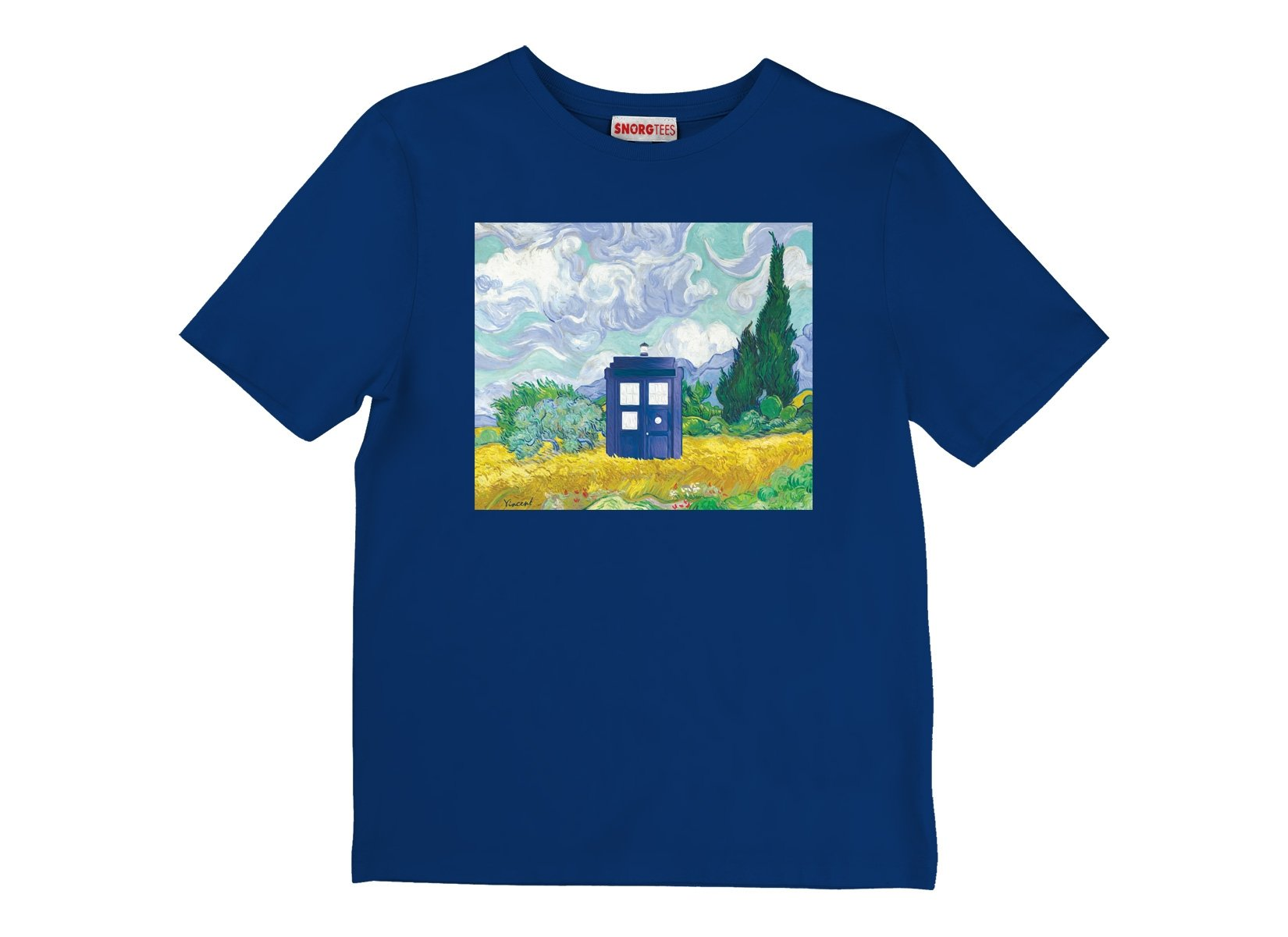 Visiting Van Gogh on Kids T-Shirt