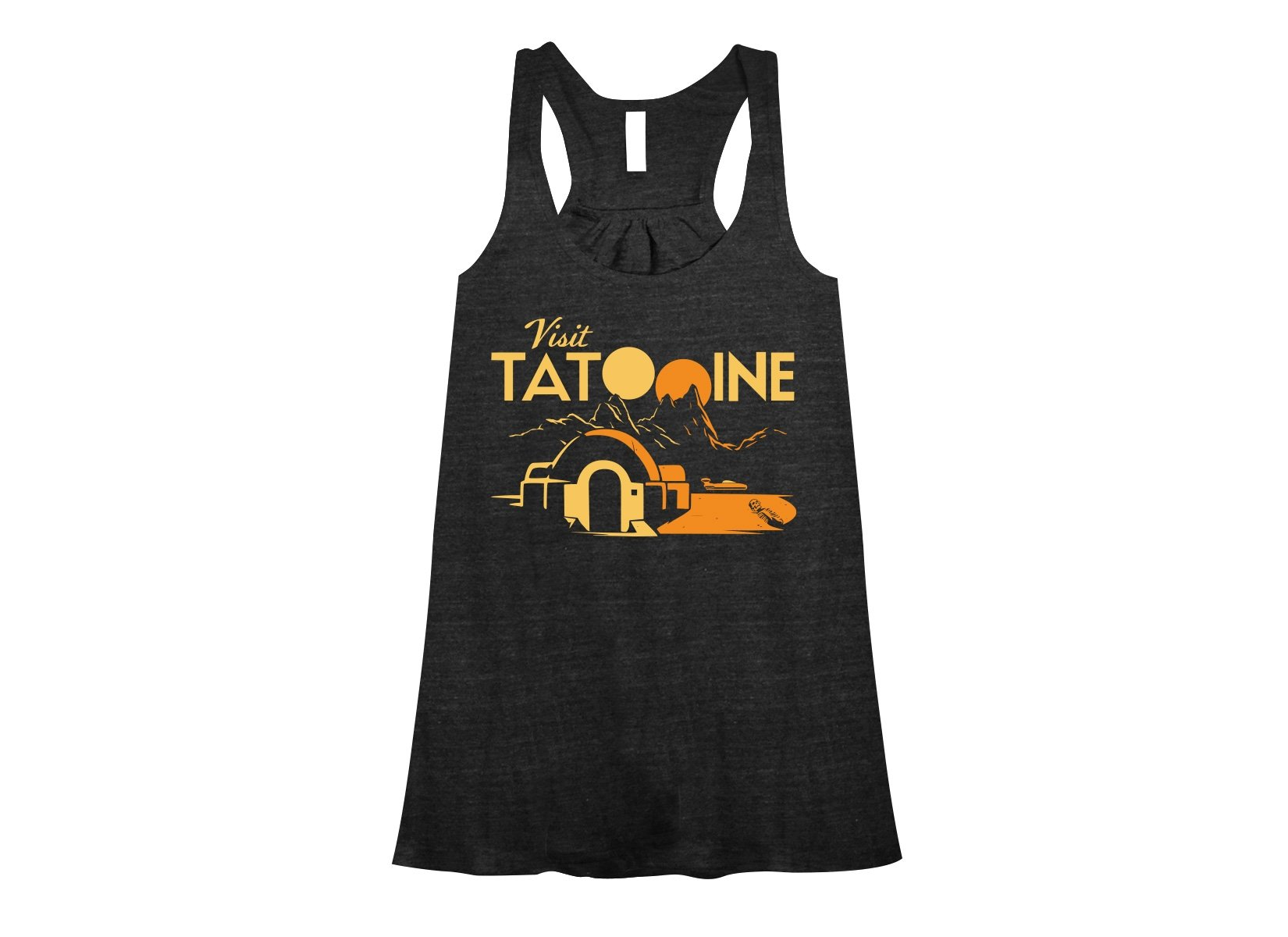 Visit Tatooine on Womens Tanks T-Shirt