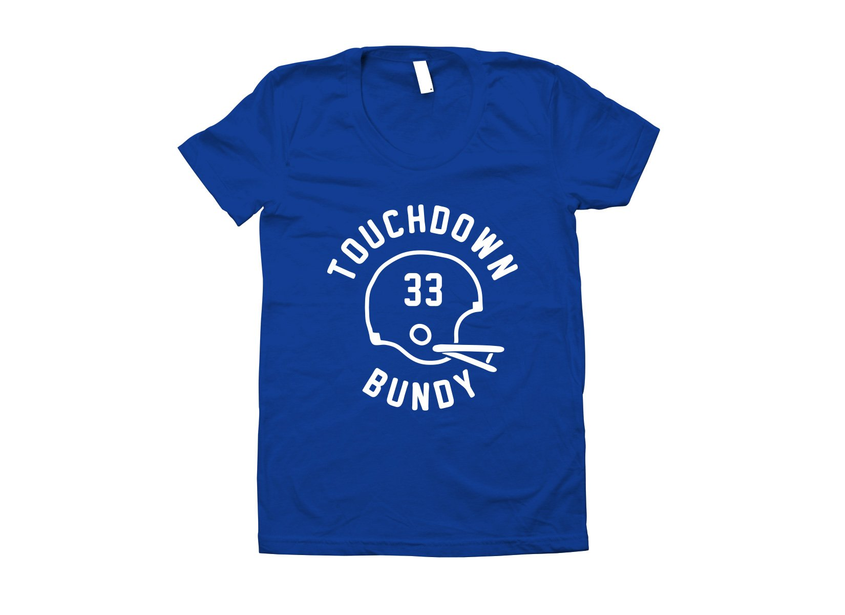 Touchdown Bundy on Juniors T-Shirt