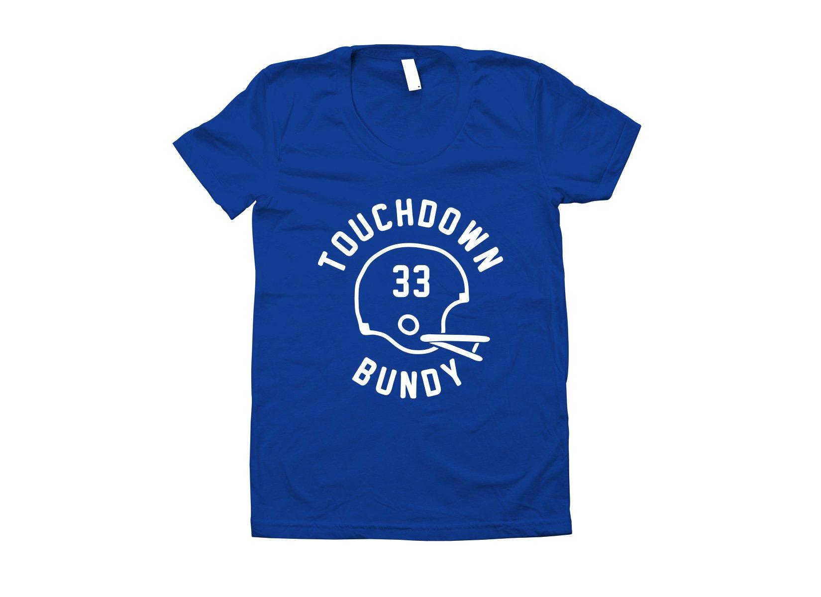 Touchdown Bundy on Juniors T-Shirt