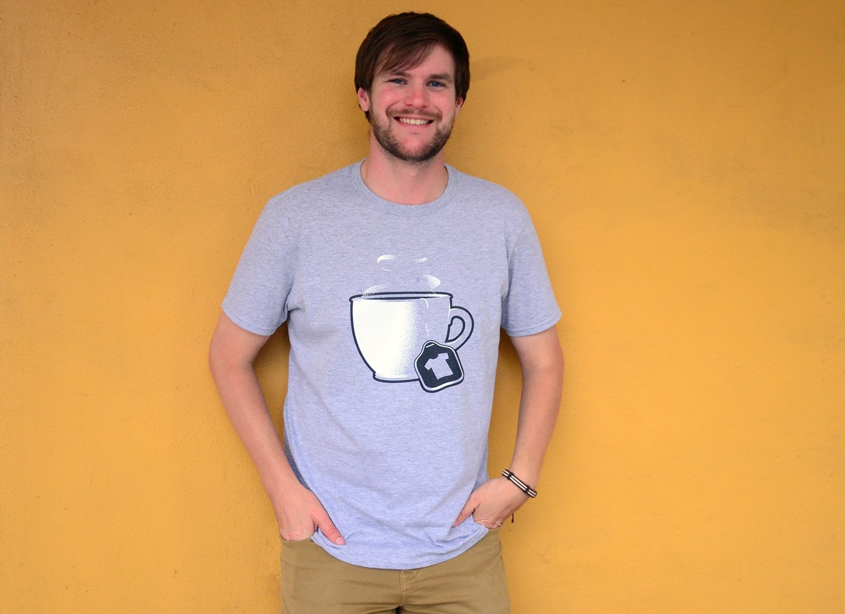 Tea Shirt on Mens T-Shirt