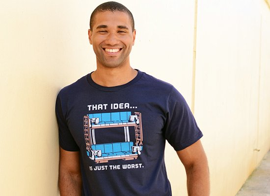 Double Decker Couch on Mens T-Shirt