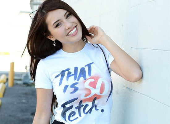 That Is So Fetch! on Juniors T-Shirt