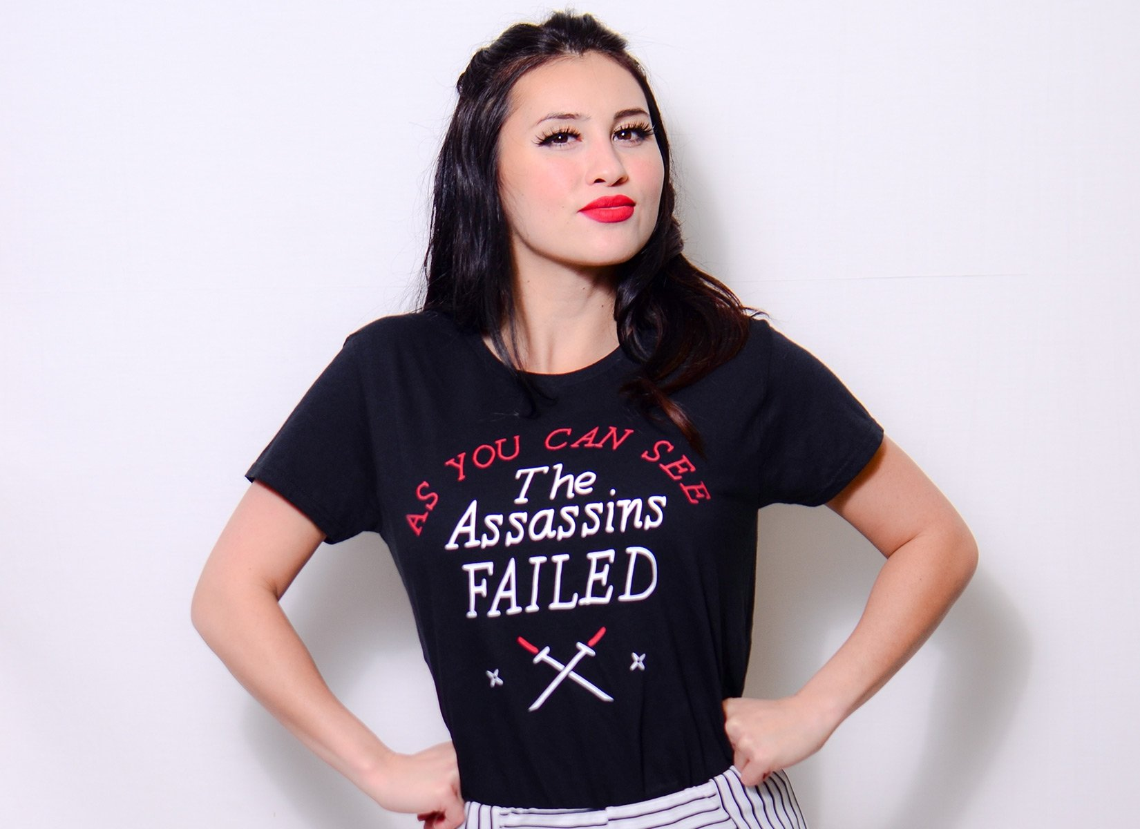 The Assassins Failed on Womens T-Shirt