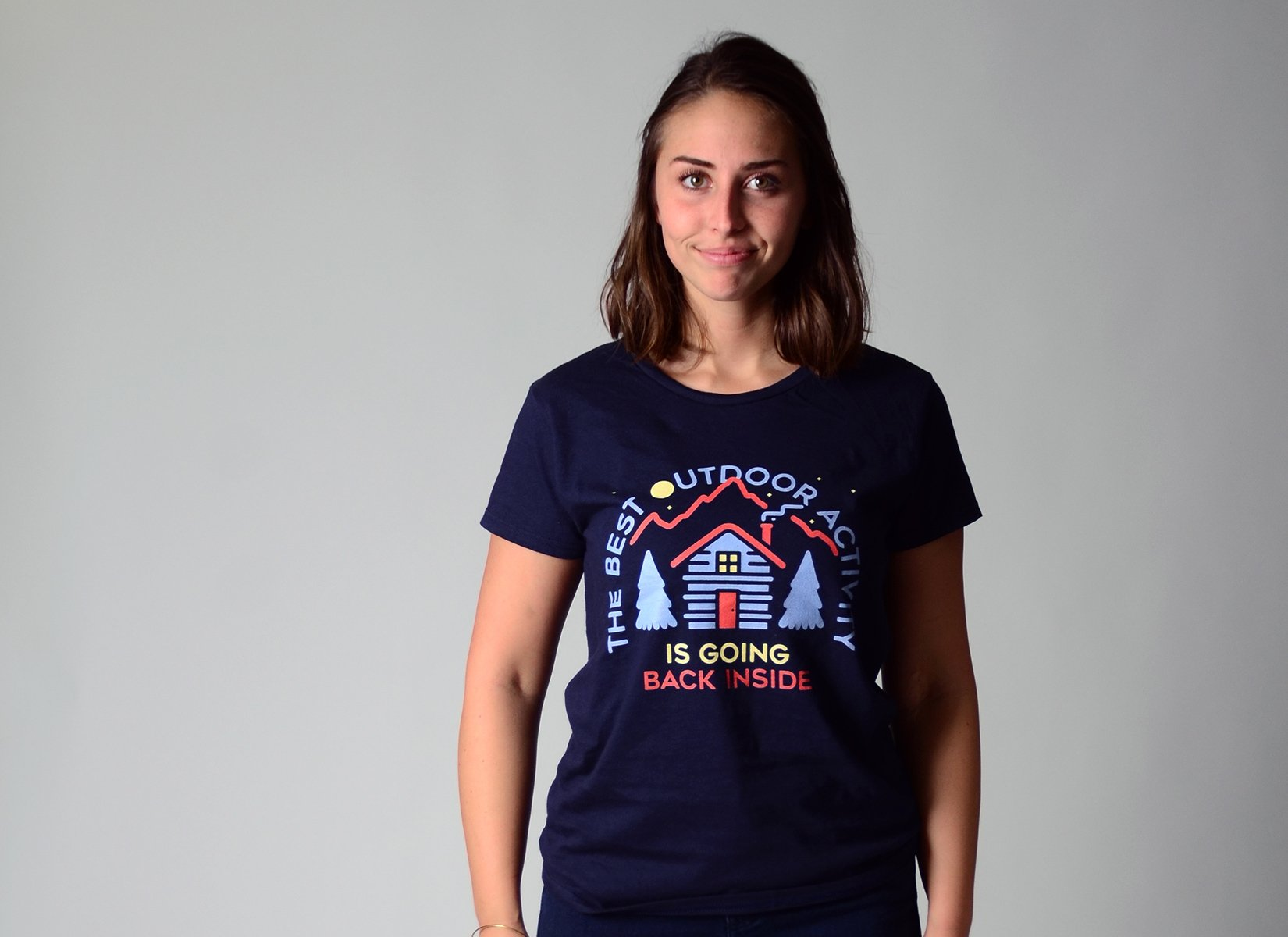 The Best Outdoor Activity on Womens T-Shirt