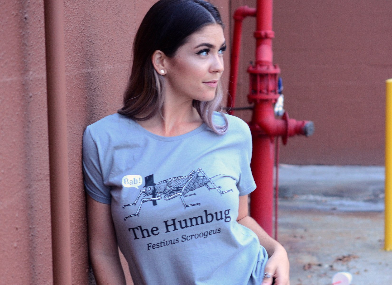The Humbug on Womens T-Shirt