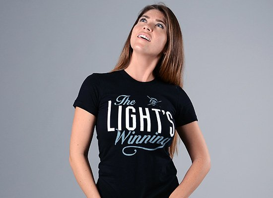 The Light's Winning on Juniors T-Shirt
