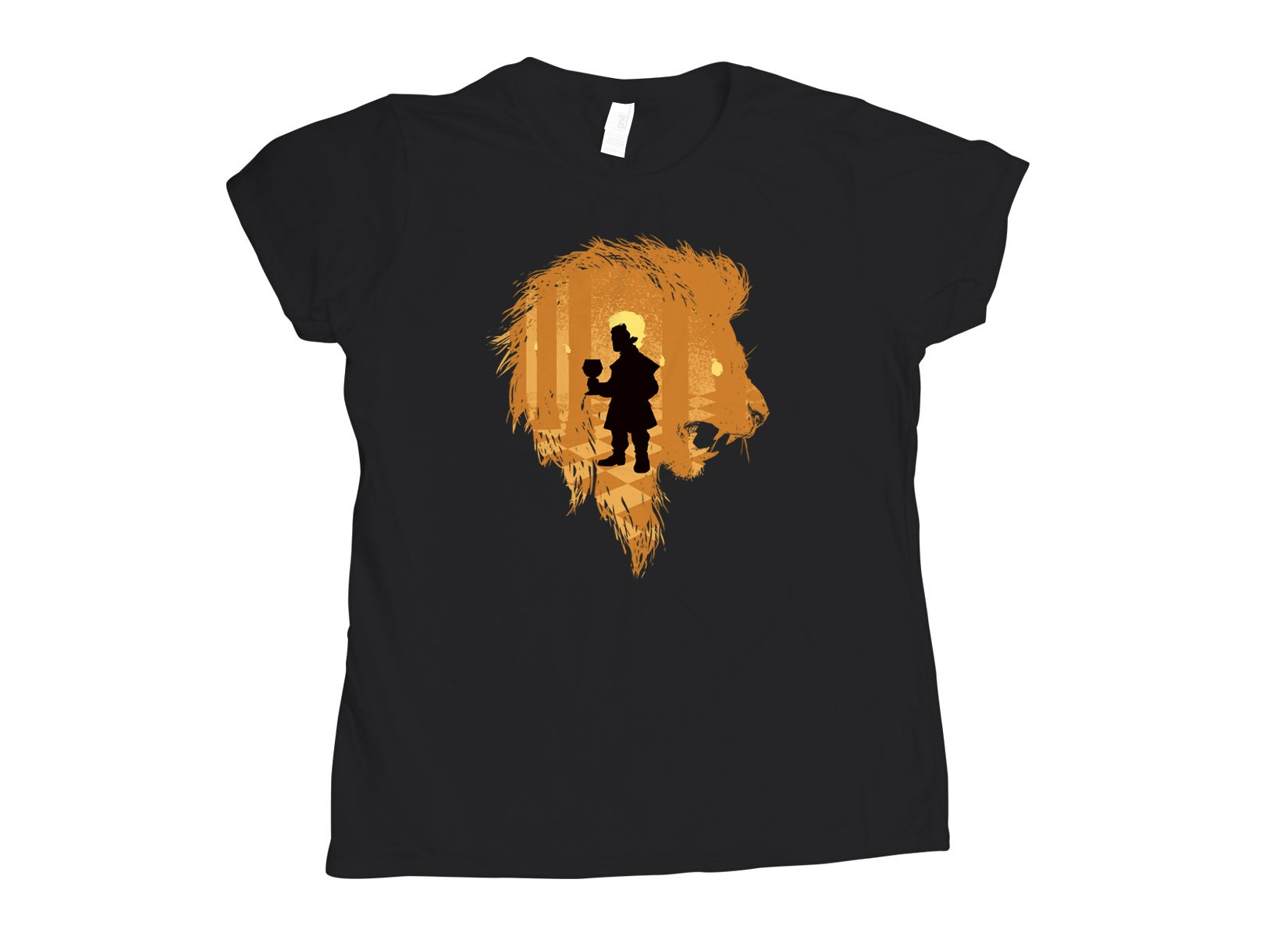 The Lion on Womens T-Shirt