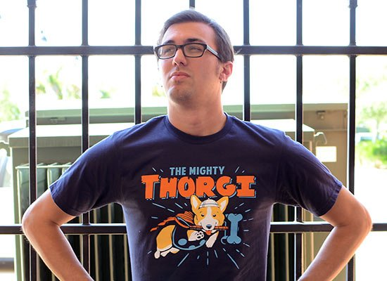 Thorgi on Mens T-Shirt