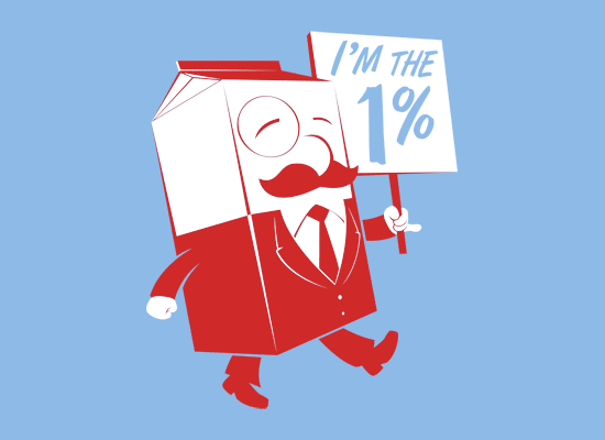 I'm The 1% on Mens T-Shirt