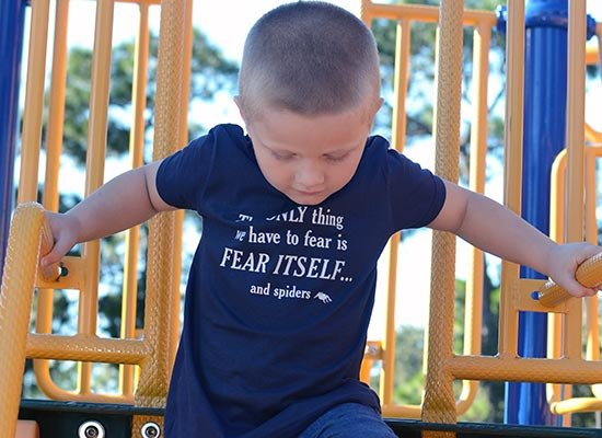 The only thing we have to fear on Kids T-Shirt