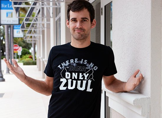 Only Zuul on Mens T-Shirt