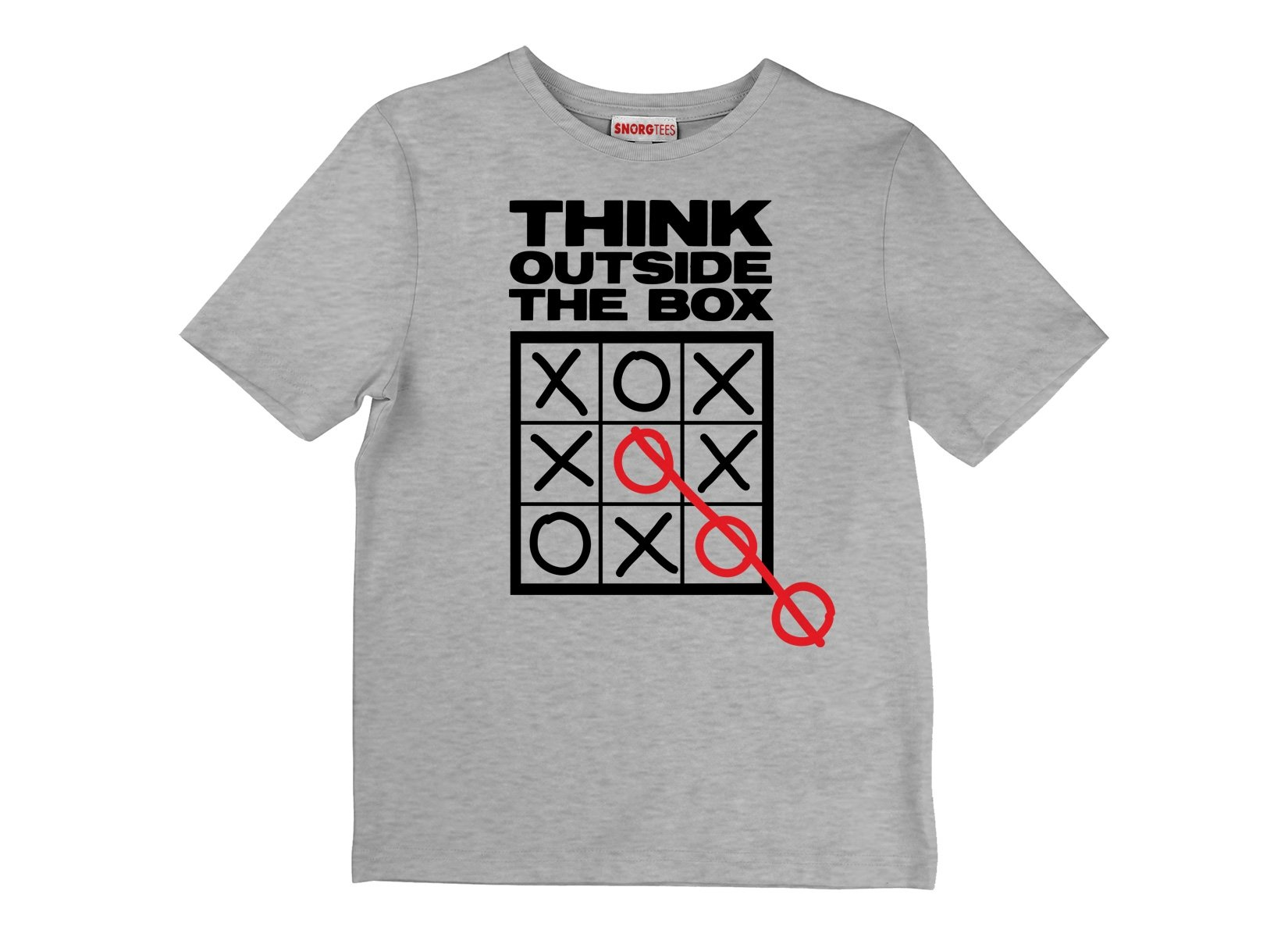 Think Outside The Box on Kids T-Shirt